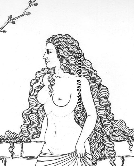 ведьмы рисунки карандашом: